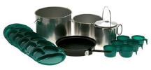 Cooking pots and utensils