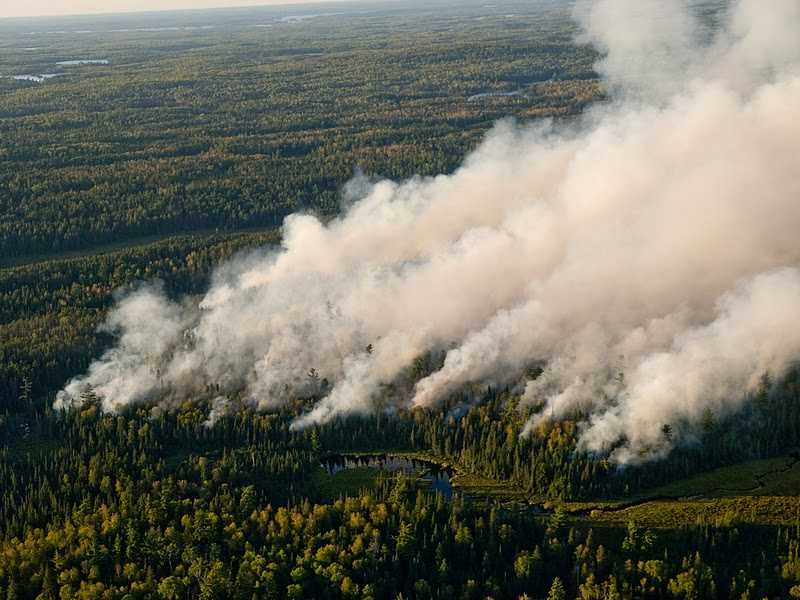 Pagami Creek Fire Map.Boundary Waters Outfitters Bound