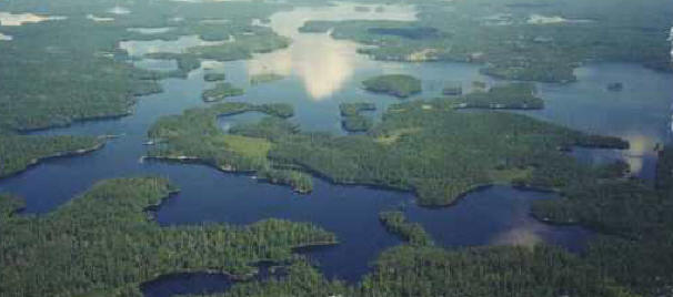 BWCA from above